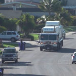 City of San Diego recycling truck