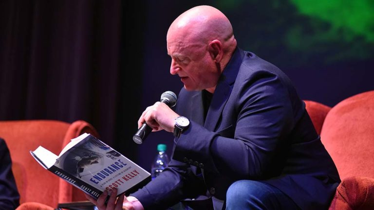 "Retired astronaut Scott Kelly reads an excerpt from his new book, ""Endurance."""