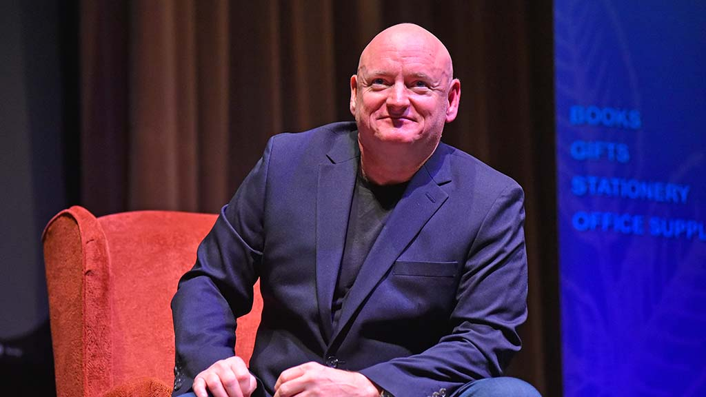 Retired astronaut Scott Kelly appears at USD, cosponsored by Warwick's Books.