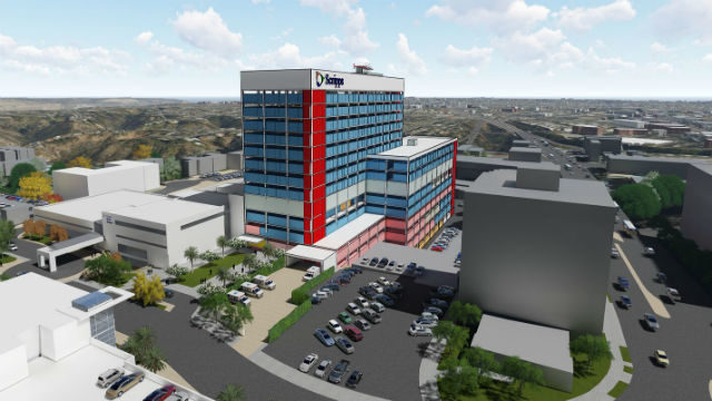 New acute care tower