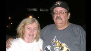 Bill and Wanda Dickens were married 20 years. She would help him file stories for East County Sports, his son said.