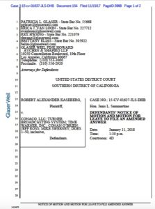 Recent court filings by  Conan O'Brien lawyers in joke-theft case.