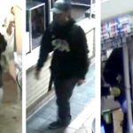 Male suspect in Carmel Valley gas station robbery.