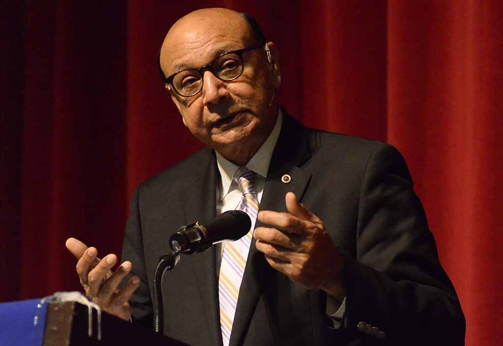 """Khizr Khan said: """" You sent us there. That [convention] speech, even today, it is dedicated to you. The power of your words... and courage."""""""