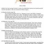 "Junior League's ""Menu of Men"" for 10th annual Jingle Bell Bachelor Bash."
