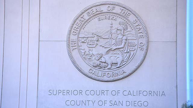 Superior Court sign