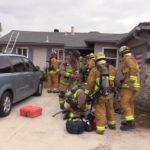 Santee house fire