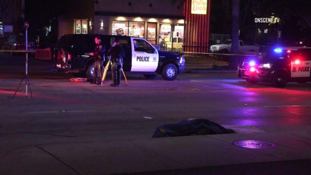 Man dead in street