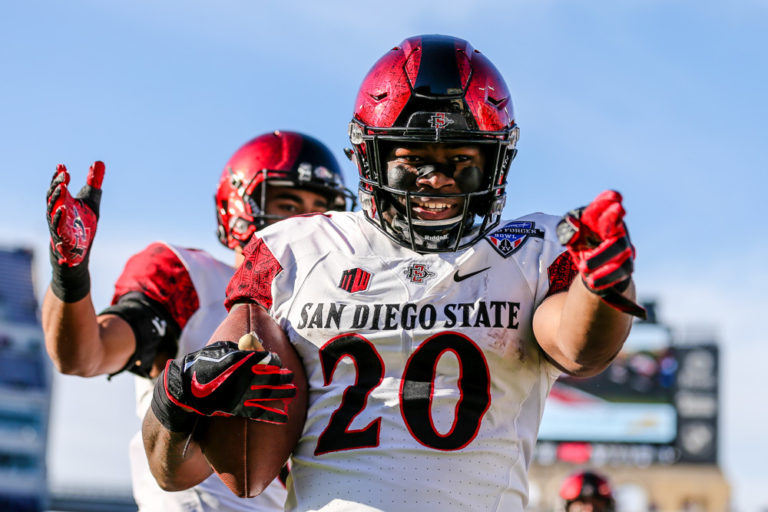 The Newest Member of The Seattle Seahawks Backfield, SDSU Alum Rashaad Penny