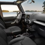 Jeep Wrangler JK interior