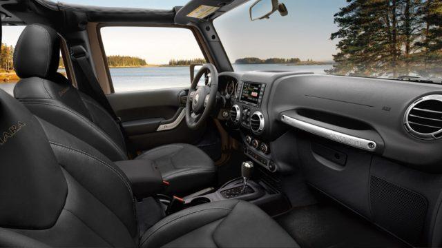 Jeep Wrangler JK interior
