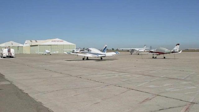 Airplanes at Brown Field