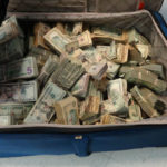 Seized drug cash