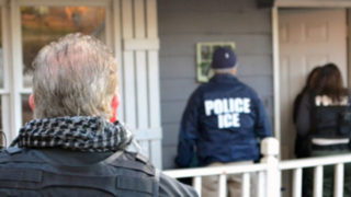 ICE immigration raid