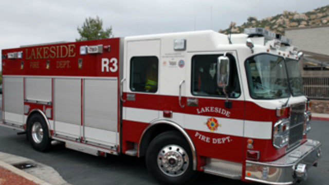 Lakeside Fire District truck