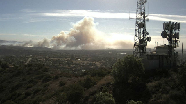 Evacuations Are Underway As The 'Lilac Fire' Scorches Through Thousands Of Acres