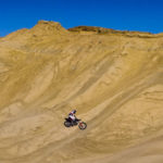 Motorcycles at Ocotillo Wells