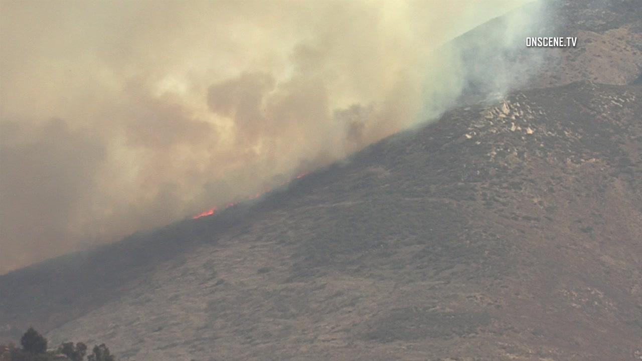 Spreading Wildfire Forces Evacuations in San Diego County