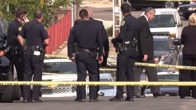 Police at scene of officer-involved shooting