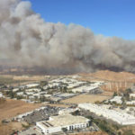 Rye Fire in Santa Clarita