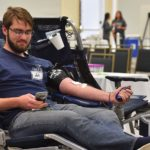 San Diegans took time to donate blood at the first San Diego Cares Holiday Blood Drive.
