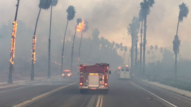 Lilac Fire Map Updated >> Some Evacuation Orders Lifted as Lilac Fire's Growth Slows - Times of San Diego