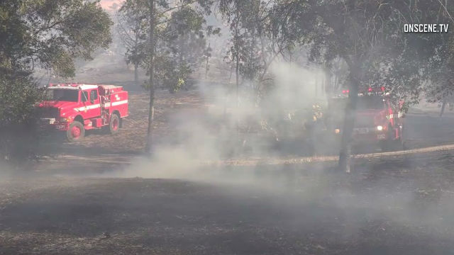 Brush fire in Bonsall; evacuations ordered