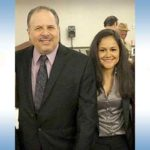 Part of a group photo posted on Melody Godinez's Facebook page shows her with UFCW Local 135 President Mickey Kasparian in March 2015 at Wyndham San Diego Bayside hotel.