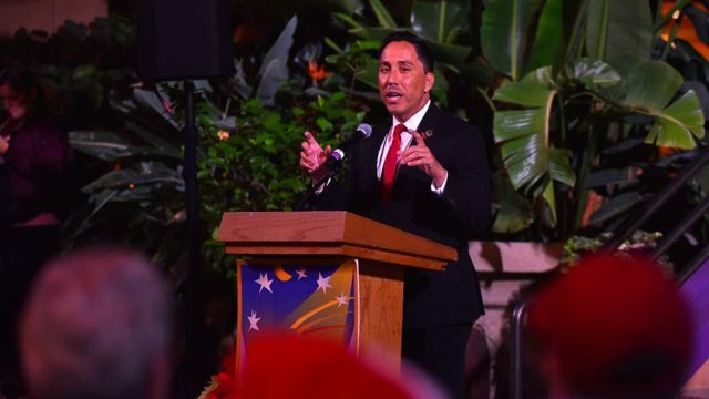 State Assemblyman Todd Gloria spoke about this year's achievements and hopes for the future