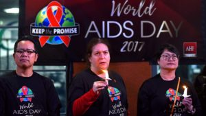 The annual remembrance day is dedicated to raising awareness of the AIDS and honoring those who died from the disease.