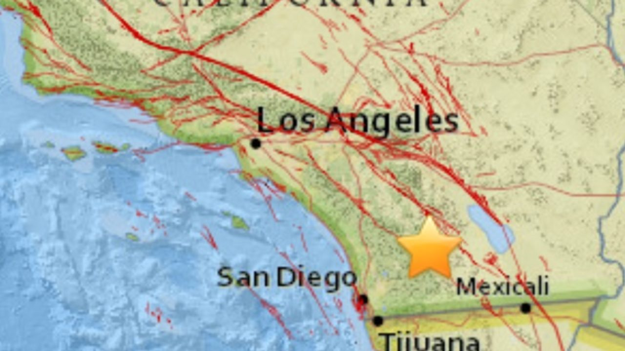 String Of 5 Earthquakes Shake Eastern San Diego County Near Julian