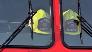 Engineer helmets were a tribute to Cory Iverson at San Diego's Rock Church