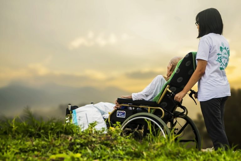 Elderly, nursing, hospice care