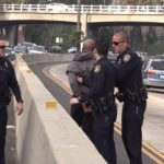 163 Freeway arrest