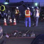 Crews at gas leak
