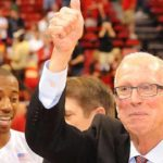 Former San Diego State basketball coach Steve Fisher.