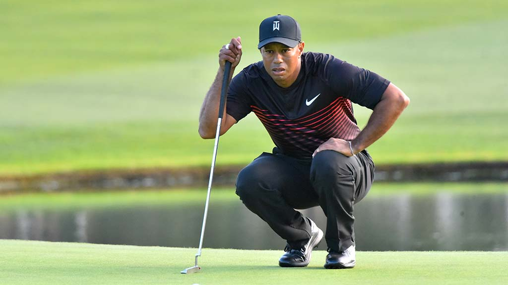 Tiger Trying To Make The Cut At Torrey Pines