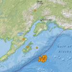 Alaska earthquake location