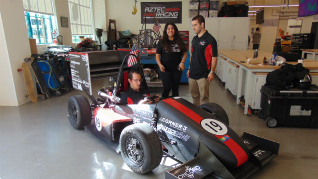 Aztec Racing car