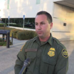 Border Patrol agent Theron Francisco