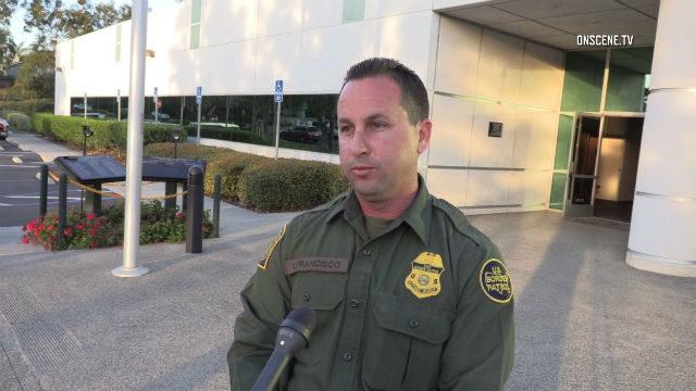 Border Patrol agent Theron Francisco