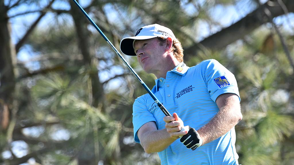 Brandt Snedeker of Tennessee finished the third round of the Farmers Insurance Open in La Jolla with a score of +1, tied for 67th place.
