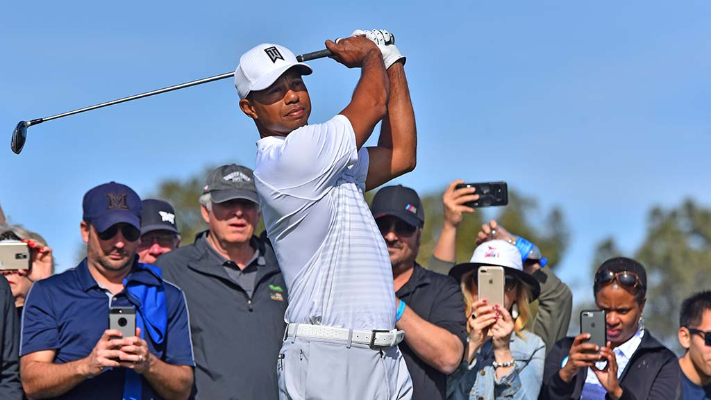 b5c0da8703c67 Tiger Woods to Tee Off as  7.1 Million Farmers Insurance Opens at ...
