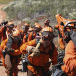 Inmates serving as California firefighters