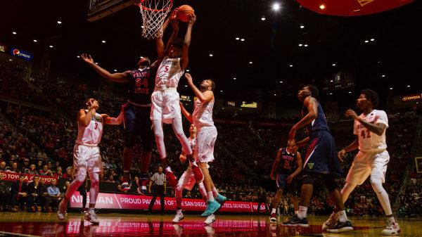 Jalen McDaniels - SDSU - Aztecs basketball