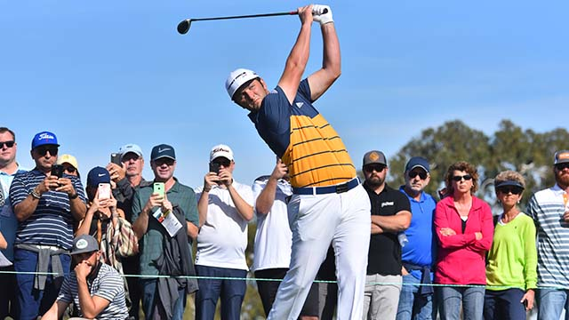 Jon Rahm finished the third round of the Farmers Insurance Open in La Jolla with a score of -7, tied for 12th.
