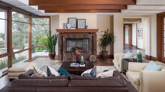 La jolla dream house raffle launches to support ronald for Living room la jolla