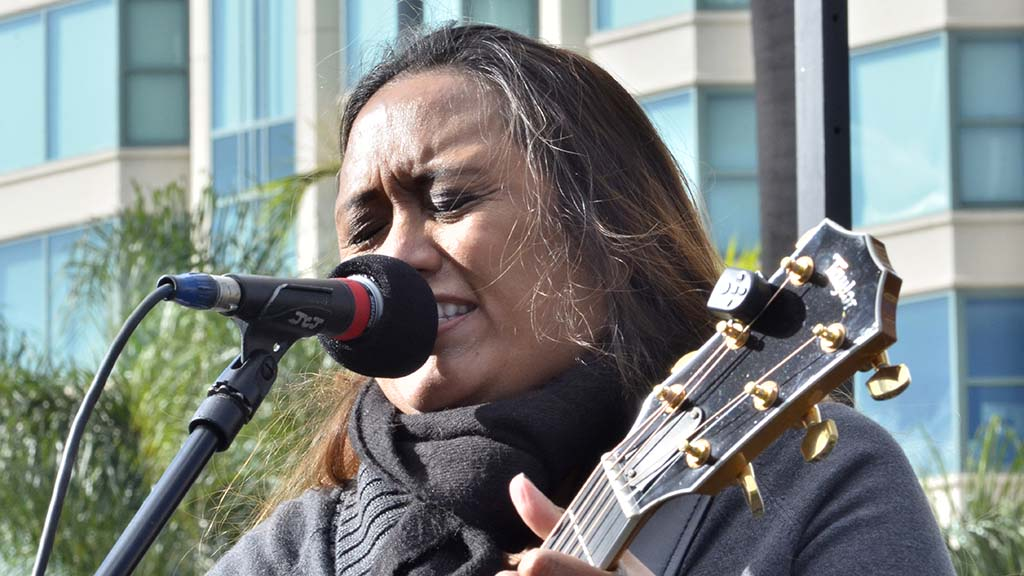 """Joyce Mendez called the sixth annual Walk for Life """"a holy moment."""""""