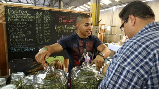 Marijuana shop