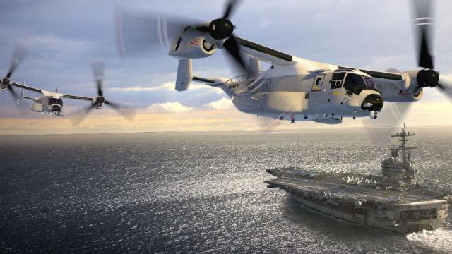 Navy V-22B tilt-rotor
